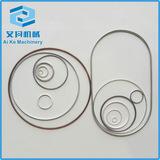 各种异型空心金属o型/c型密封圈